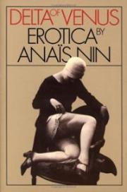 """""""Delta of Venus"""" by Anais Nin - Cover"""